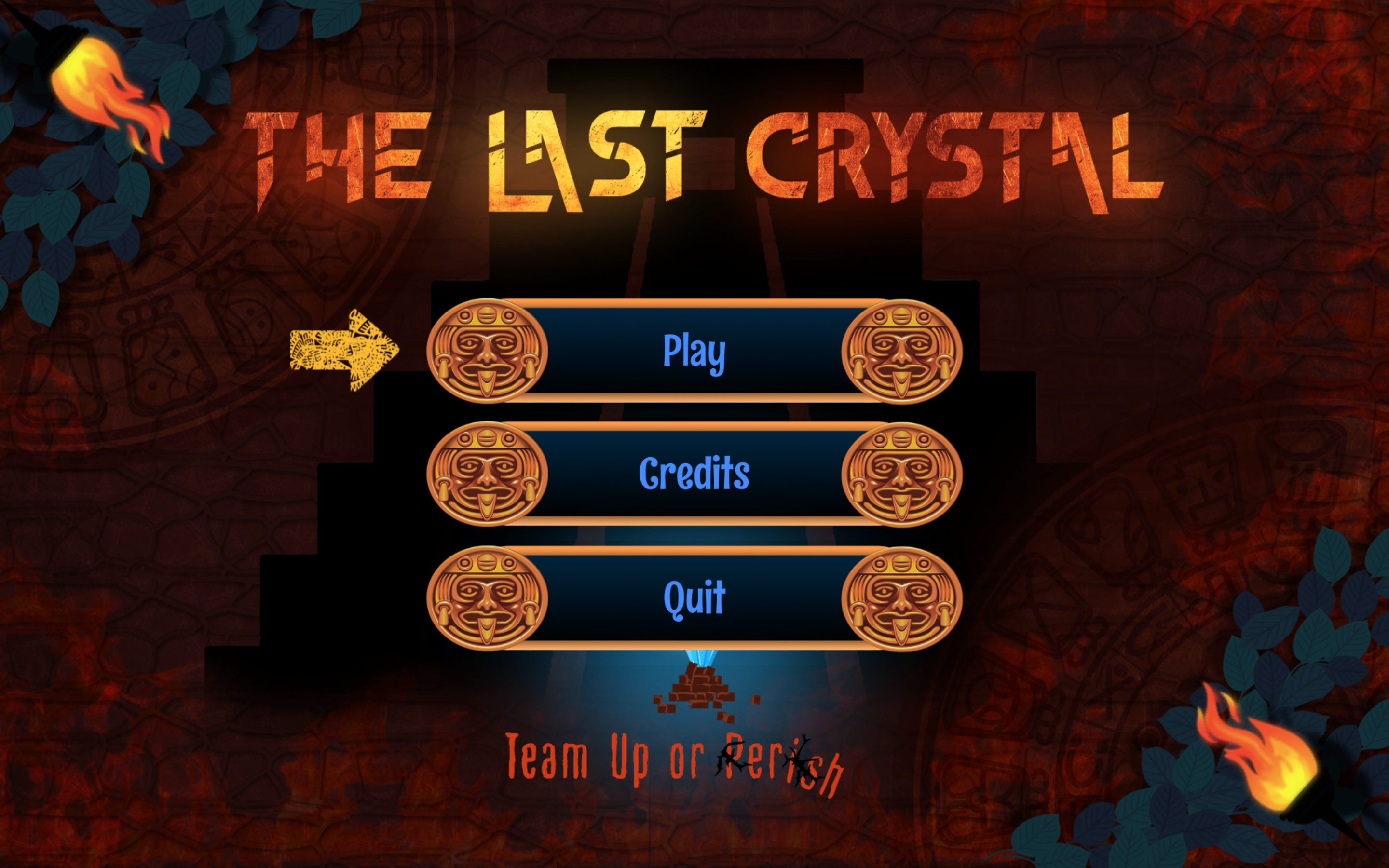 The Last Crystal Menu